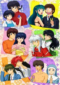 Takahashi RUMIKO / never noticed that you can spell her name with the title of each of her works :o