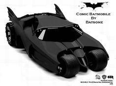 New Batmobile - The SuperHeroHype Forums Batman Car, Batman Batmobile, Batman 1966, Lego Batman, Superman, Superhero Characters, Dc Comics Characters, Batman Comic Books, Comic Books Art