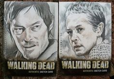deviantART: The Walking Dead Daryl and Carol by ~thestyleofnostyle