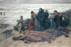 The Tormented by Virginie Demont-Breton, ca. Lightning Strikes, Victorian Art, Reproduction, Famous Artists, Beautiful Paintings, Abandoned, Nature, Poster Size Prints, Oil On Canvas