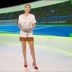 More on tvmagia.ro News Anchor, Beautiful Legs, Tudor, Sports News, Champion, Newscaster