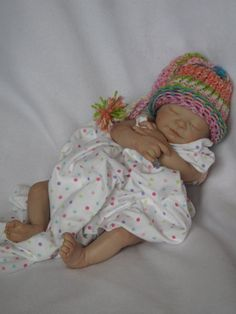 Reborn baby girl heirloom dollNewborn by simplysweetbundles, $250.00