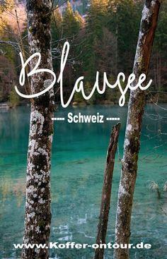 Blausee - einer der schönsten Seen in der Schweiz. Alles was Du über den Blausee wissen musst findest Du hier. Schau mal rein! #Blausee #Schweiz #See #Natur Reisen In Europa, Swiss Alps, Seen, Traveling By Yourself, Places To Go, Holiday, Travelogue, Tricks, Switzerland