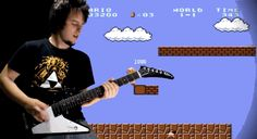 Watch this guy shred through four decades of video game music