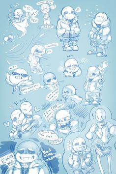 Previous:02 Next:04 ---- Now it's blue xD lineart this page is soo much fun xD Undertale (c) Toby Fox Comic (c) Me