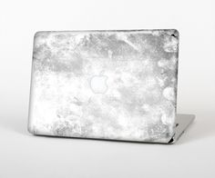 """The White Cracked Rock Surface Skin Set for the Apple MacBook Pro 15"""" with Retina Display from Design Skinz"""
