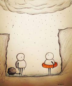 Gypsie Raleigh ilustraciones dibujos tristes para reflexionar 6