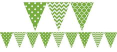 Kiwi Green Decorations - Paper Decorations, Balloons, Custom Banners & More - Party City