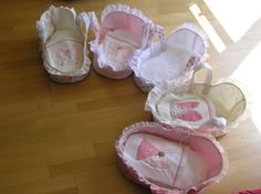 My friend Jill made all these for her nieces at Christmas time.