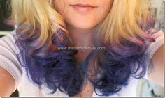 How to dip dye your hair by Madame B. Fatale