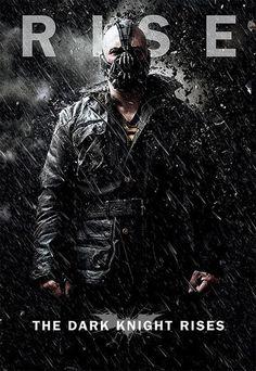 Póster Batman: The Dark Knight Rises, Bane