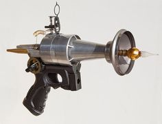 Steampunk raygun Steampunk weapon Actual gun not by TheArtOfSpirit, $750.00