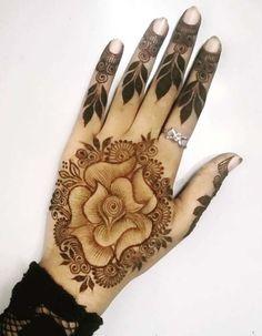 Elegant henna Design For Pretty Girls Modern Mehndi Designs, Bridal Henna Designs, Mehndi Design Pictures, Beautiful Mehndi Design, Full Hand Mehndi, Hand Henna, Henna Ink, Mehndi Desighn, Mehndi Style