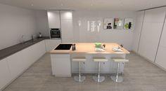 Amazing Modern Kitchen Design. Schuller German Kitchen In Nova. #germankitchens  #kitchendesign Awesome Ideas