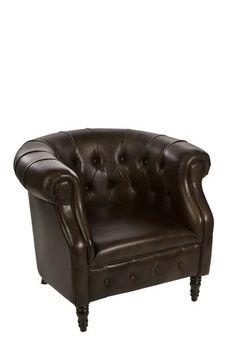 vintage cigar lounge chair