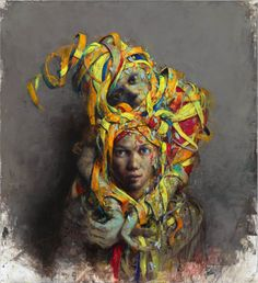 Aufkopf Jonas Burgert Oil on canvas 2015
