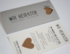 einladungskarte schokolade und pistazie - papeterie, Einladung