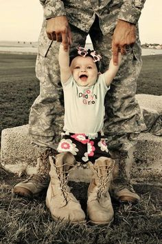 baby army princess | soldier adorable baby baby girl troops hero father
