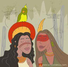 As Amãezónias: Diana e Rita