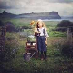 Dancing with Costică | A series in which artist Jane Long colorizes old photos and adds touches of the surreal