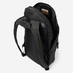 """Juno Backpack - Carbon 6 Juno Backpack - Carbon 6 The Juno Backpack features sophisticated design, superior hardware quality elements, slit pocket for your 13"""" laptop, convenient pockets for your phone, bottle and other goodies. #backpack"""