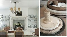 Die huis het 39 n moderne plaasskuur gevoel home decor inspirational living spaces pinterest - Deco eetkamer oud ...