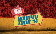 Vans Warped Tour 2014 : Programmation des groupes à Montréal le 5 juillets 2014 – 99scenes.com