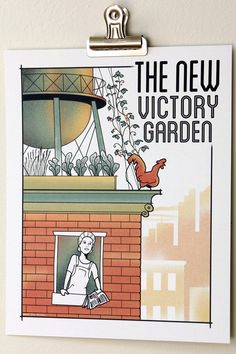Support Chicago's Peterson Garden Project and get cool art at same time. All proceeds of this special poster by acclaimed artist Joe Wirtheim benefit this community urban garden project!