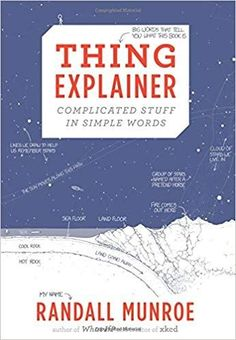 Kindle Thing Explainer: Complicated Stuff in Simple Words Author Randall Munroe, New Books, Good Books, Books To Read, The Words, Entertainment Weekly, Tectonique Des Plaques, Reactor Nuclear, Web Comic, Randall Munroe