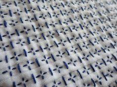 亀甲花刺しのふきんの画像 | inolino:編んだり・・縫ったり・・作ったり・・