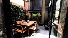 On The Block triple Threat last night we saw the final room reveals. the Terraces. Small Backyard Landscaping, Backyard Ideas, Outdoor Furniture Sets, Outdoor Decor, Outdoor Ideas, Interior And Exterior, Modern Design, Terraces, Court Yard