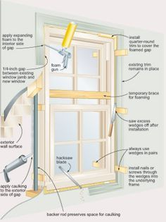 """Install Your Own Windows"" Reduce the cost of new windows by putting them in yourself."