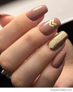 Golden Rose Nails – Tremendous Brown and Golden Glitter Nail Art Designs 2018 for Prom – Nagellack Neutral Nail Art, Gold Nail Art, Glitter Nail Art, Gold Nails, Gold Art, Pink Glitter, Tape Nail Art, Glitter Toms, Glitter Converse