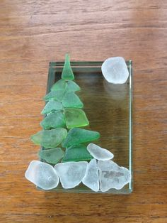 Another Style For Christmas Trees Sea Glass Art Fused Glass Sea Glass Beach