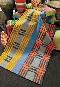 Estate Sale Blanket by Pam Rocco in Quilters Newsletter Presents Best Modern Quilts 2014