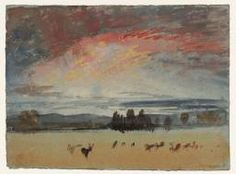 Joseph Mallord William Turner 'The Deer in Petworth Park', 1827 (Tate)