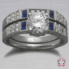 Art Deco Engagement Ring Setting