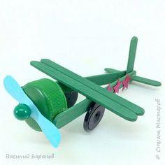 Поделка на 9 мая «Самолёт военный»