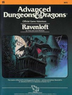 I6 Ravenloft (1e) - Ravenloft | Book cover and interior art for Advanced Dungeons and Dragons 1.0 - Advanced Dungeons & Dragons, D&D, DND, AD&D, ADND, 1st Edition, 1st Ed., 1.0, 1E, OSRIC, OSR, Roleplaying Game, Role Playing Game, RPG, Wizards of the Coast, WotC, TSR Inc. | Create your own roleplaying game books w/ RPG Bard: www.rpgbard.com | Not Trusty Sword art: click artwork for source