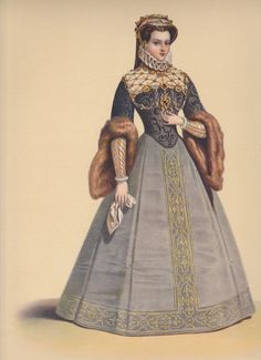 Renaissance french gown