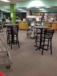 Love how our library Makeover is coming along. This is our amazing new reading cafe!