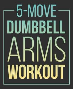 Start Lifting Weights With This Dumbbell Arms Workout Lifting Workouts, Easy Workouts, At Home Workout Plan, At Home Workouts, Workout Routines, Workout Motivation, Dumbbell Arm Workout, Sweat It Out, Shoulder Workout