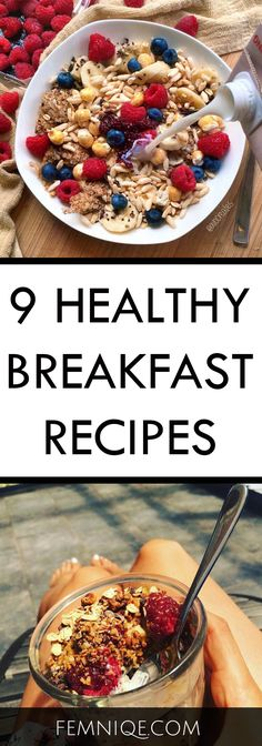 9 Super Healthy Breakfast Recipes For Weight Loss | healthy breakfast recipes on the go | healthy breakfast ideas