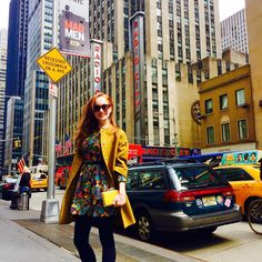 lotte verbeek @lotteverbeek1 · 4/1/15 Lets get colorful! Dress @patbo_oficial and clutch @judithleiberny #NYC #spring