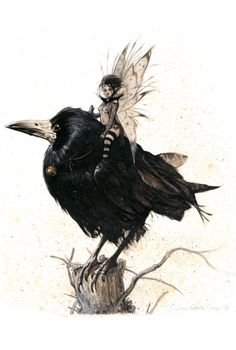 Queen Mab by Jean Baptiste Monge