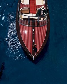 Neiman Marcus-Edition Hacker-Craft Speedboat. Powered by Elebra: Sample @ www.MyElebra.com/Pin