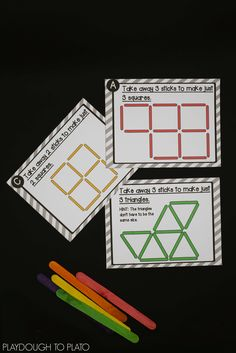 Activity for ages 6 to 8. Want the challenge of matchstick puzzles WITHOUT the inevitable fire hazard? These craft stick puzzles areready to go STEM centers, brain breaks or early finisher tasks. Simply grab a batch of craft sticks, print the cards, and you're ready to play. Download your set in our shop or on …