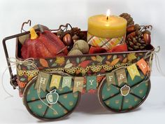 Carta Bella Fall Blessings Wagon, by Annette Green
