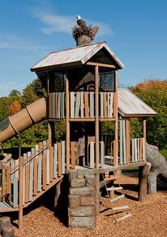 Introduce your #activekids to #nature with our nature-inspired playgrounds.