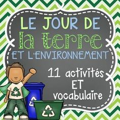 Teaching Science, Teaching Tools, Teaching Ideas, Core French, French Resources, Vocabulary Cards, Travel Humor, French Lessons, Earth Day